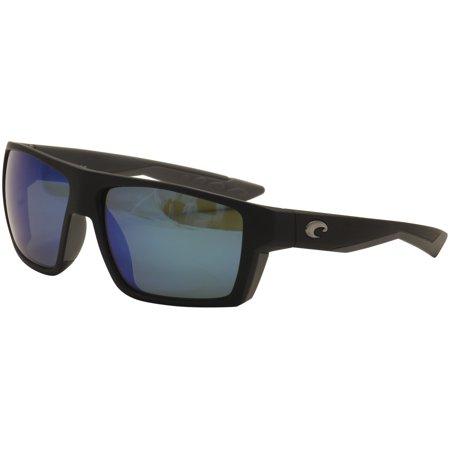 1a92a18f2d73a Costa Del Mar - Costa Del Mar Bloke BLK 124 OBMGLP Matte Black 580G  Polarized Sunglasses 61mm - Walmart.com