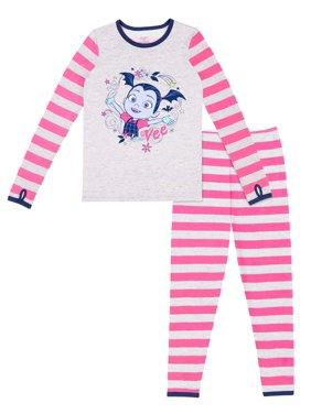Vampirina Poly Spandex Top and Pant Thermal Underwear Set, (Little Girls & Big Girls)