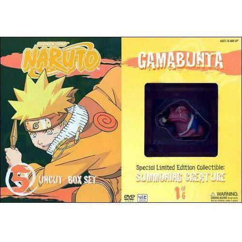 Naruto Uncut Box Set, Vol. 5 (Special Edition)