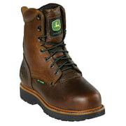 Womens JD3362 Steel Toe Lace Up Safety Boot Shoe, Brown, US 6