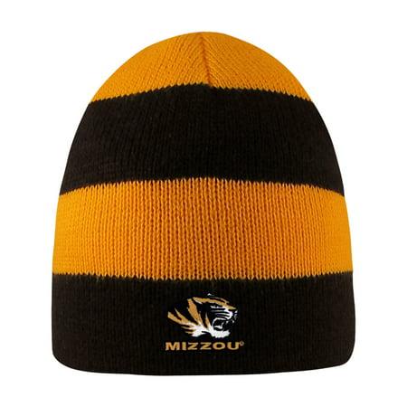 - University of Missouri Rugby Striped Knit Beanie