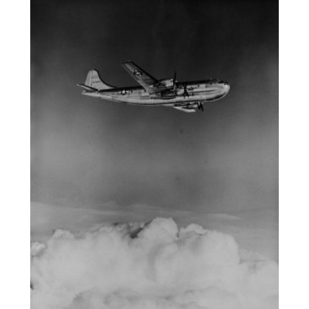 Boeing C-97 Stratofreighter long range heavy military cargo aircraft based on B-29 bomber Canvas Art - (24 x 36)