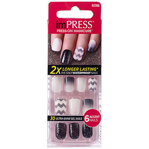 Broadway imPRESS Gel Nails, Flash Mob, 36 count