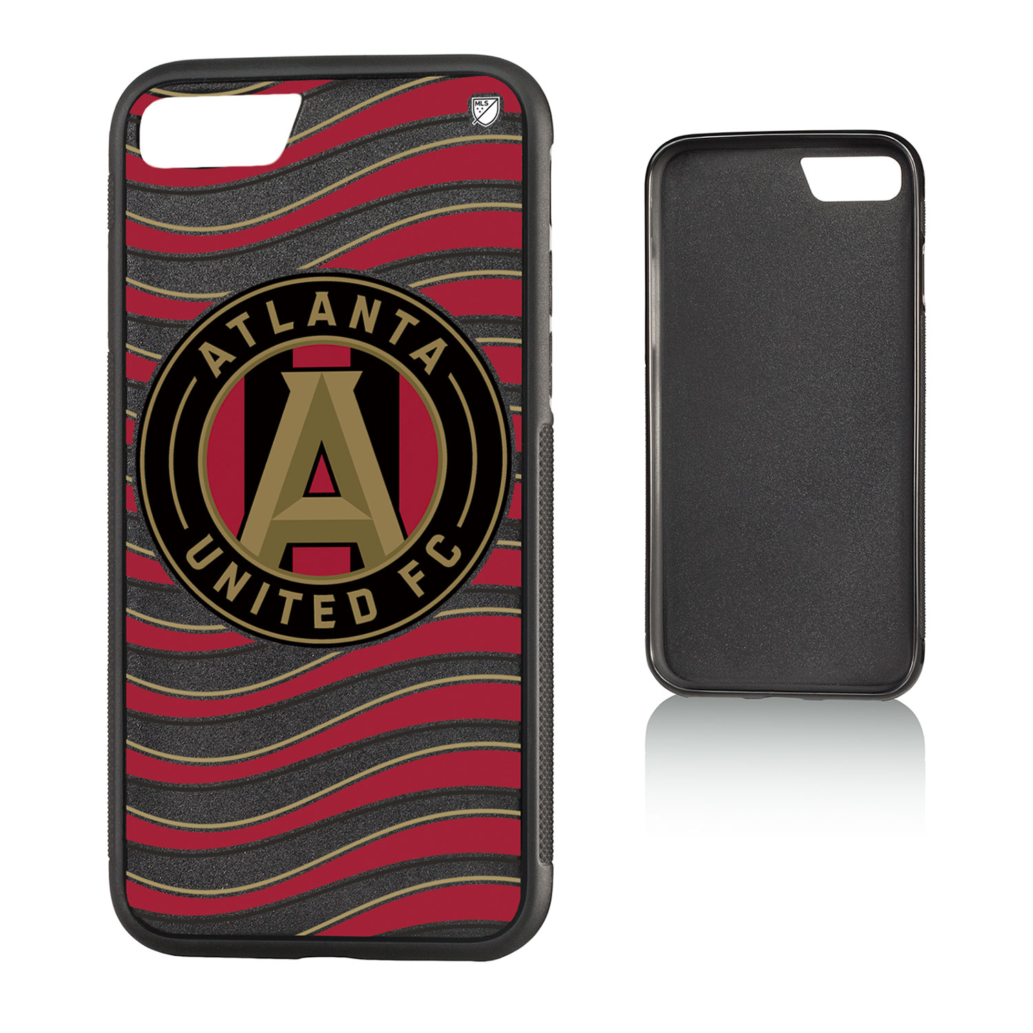Atlanta United FC ATLUTD Wave Bump Case for iPhone 8 / 7