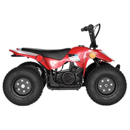 T4B SPARK Mini ATV 250W Brushless Electric KIDS Dirt Quad, 24V13.7Ah, All Terrain, Recreational Outdoors, Off-Road, 3-6 y.o. - Red - image 10 de 11
