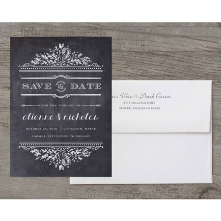 Woodland Wedding Deluxe Save the Date