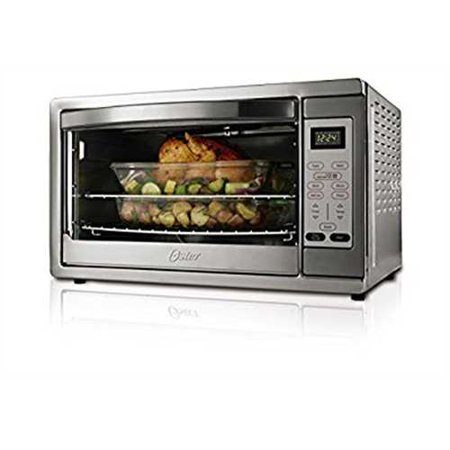 Oster Extra Large Digital Countertop Oven, Stainless Steel, TSSTTVDGXL ...