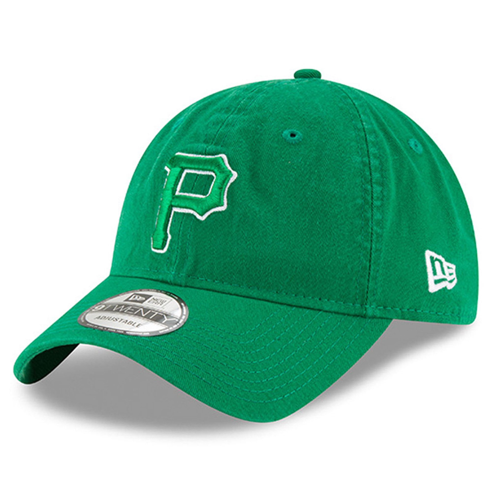 Pittsburgh Pirates New Era Women's 2018 St. Patrick's Day Prolight 9TWENTY Adjustable Hat - Green - OSFA