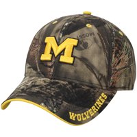 promo code 2786d 135a8 Product Image Michigan Wolverines Mossy Oak Clean Up Adjustable Hat - Camo  - OSFA