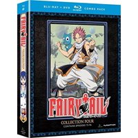 Fairy Tail: Collection Four (Blu-ray + DVD)