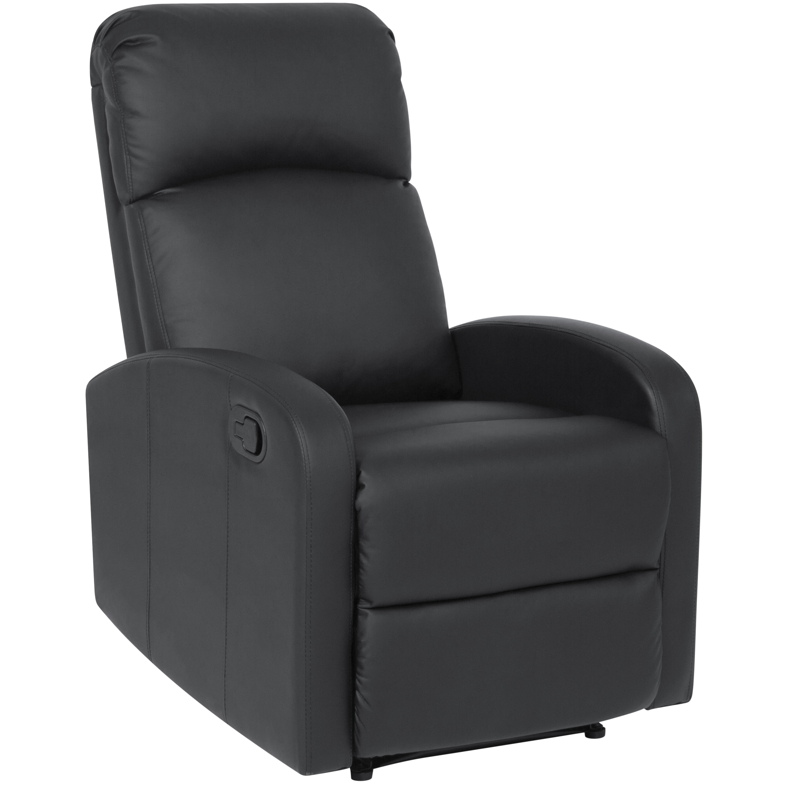 Best Choice Products Home Theater Leather Recliner Chair (Black)  sc 1 st  Walmart & Home Theater Recliner islam-shia.org