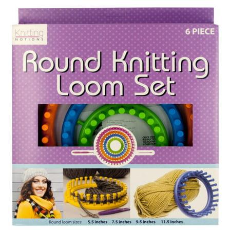 Round Knitting Loom Set - Set of 2
