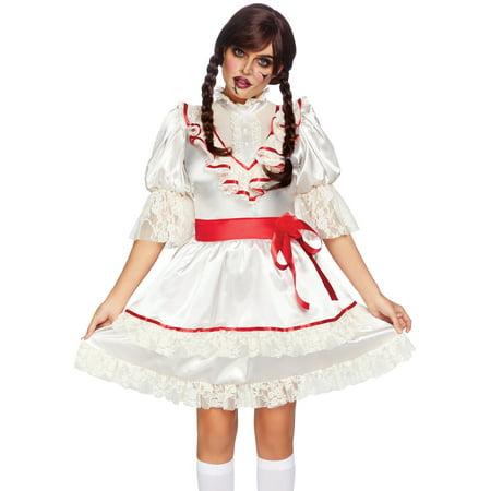 Creepy Doll Costumes (Leg Avenue Women's Haunted Creepy Doll)