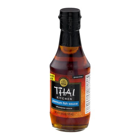 Thai kitchen gluten free premium fish sauce fl oz for Thai kitchen fish sauce