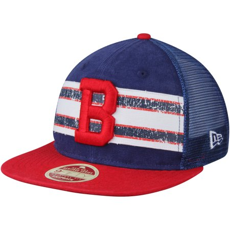 Boston Red Sox New Era Vintage Throwback Stripe 9FIFTY Adjustable Snapback  Hat - Navy Red - OSFA - Walmart.com bf179cf2e