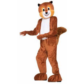 MASCOT-SCAMPER THE SQUIRREL - Adult Squirrel Costume