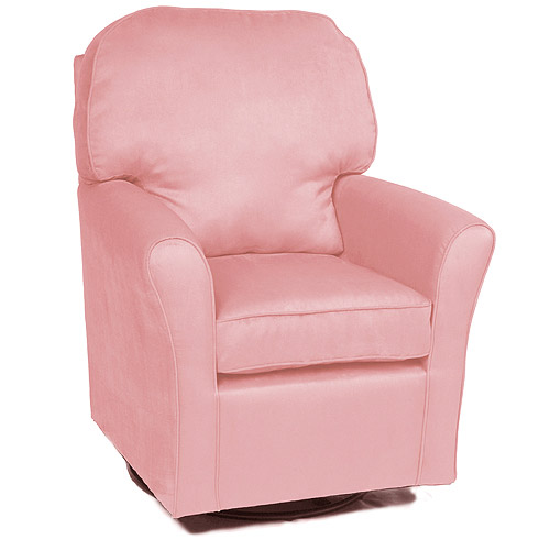 Enchanted - Camelot Glider, Microsuede Pink