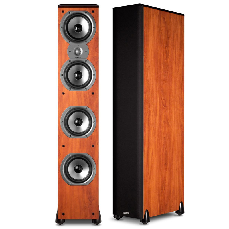 Polk Audio TSi500 Floorstanding Speakers in Cherry (Pair) by Polk Audio