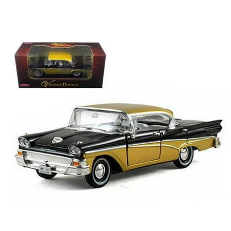 1958 Ford Fairlane Black 1-32 Diecast Car Model