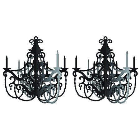 Party in Paris Hanging Chandelier - 2 Pack By](Paris Theme Party Supplies)