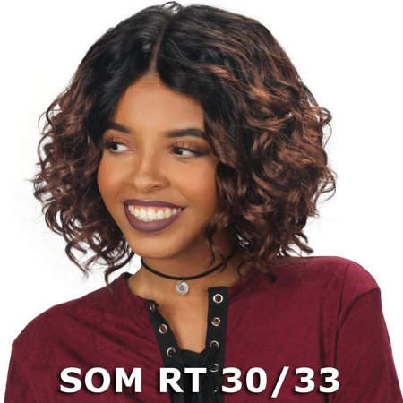 Sis Prime Human Hair Blend Lace Front Wig - JIA (SOM RT 30/33) African Pride Blends
