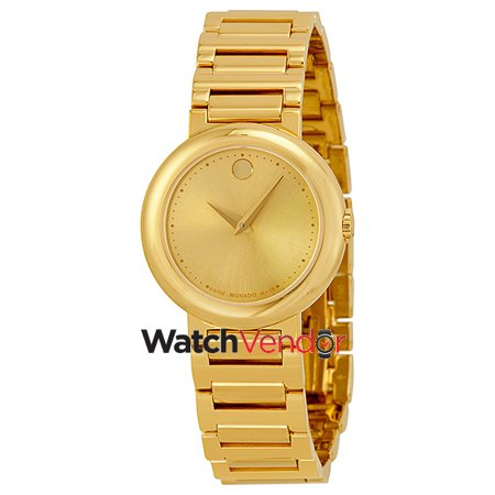 Movado Museum Gold Dial Yellow Gold-plated Ladies Watch 0606704 - image 4 of 4