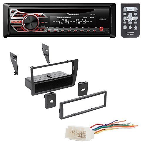 Complete Honda Civic 2001-2005 Car Stereo Deck Install Kit Set W// Wiring Harness