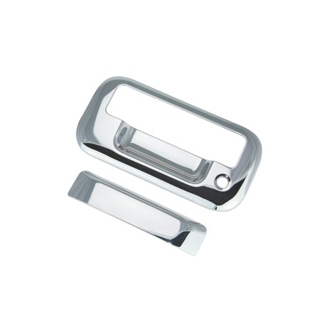 - 04-14 Ford F150 / 08-14 Ford F250 Superduty / 04/08 Ford Mark Lt / 07-10 Ford Explorer Sport Trac Chrome Tailgate Handle Cover 04 05 06 07 08 09 10 11 12 14