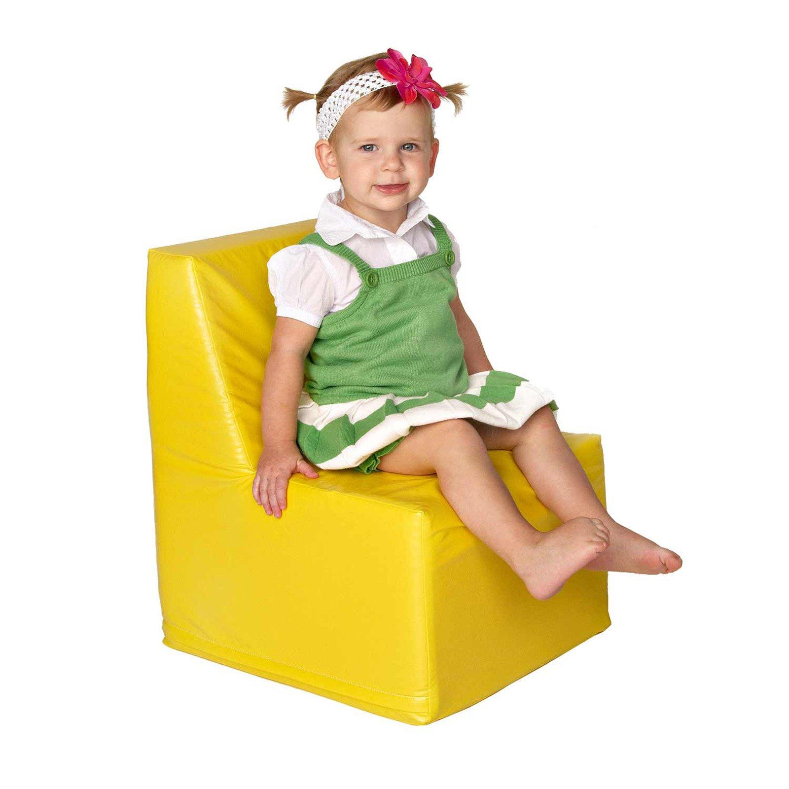 Foamnasium Straight Back Soft Play Chair