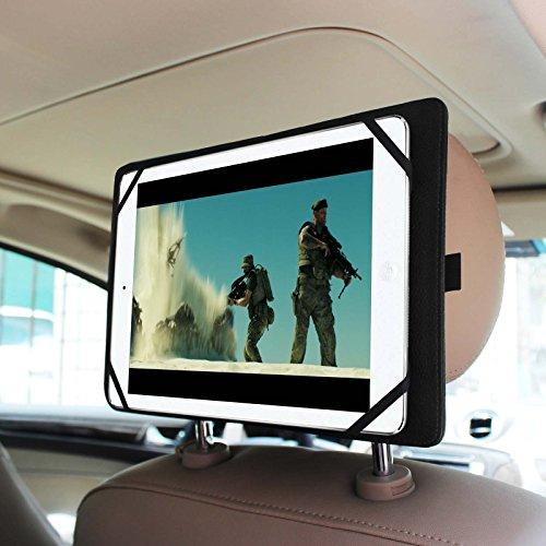 """Fintie Universal Car Headrest Mount Holder for 7"""" to 11"""" Tablet PC Inclu. Nextbook, iPad, Samsung Galaxy Tab and More"""