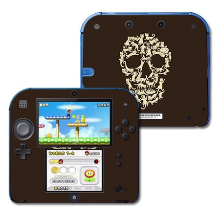 MightySkins Skin Compatible With Nintendo 2DS - Bright And Happy   Protective, Durable, and Unique Vinyl Decal wrap cover   Easy To Apply, Remove, and Change Styles   Made in the (My Eyes Change Color With My Mood)