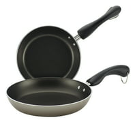 Farberware(r) Inside/Outside Nonstick Twin Pack 7-1/4-Inch & 9-Inch Skillet Set, Champagne