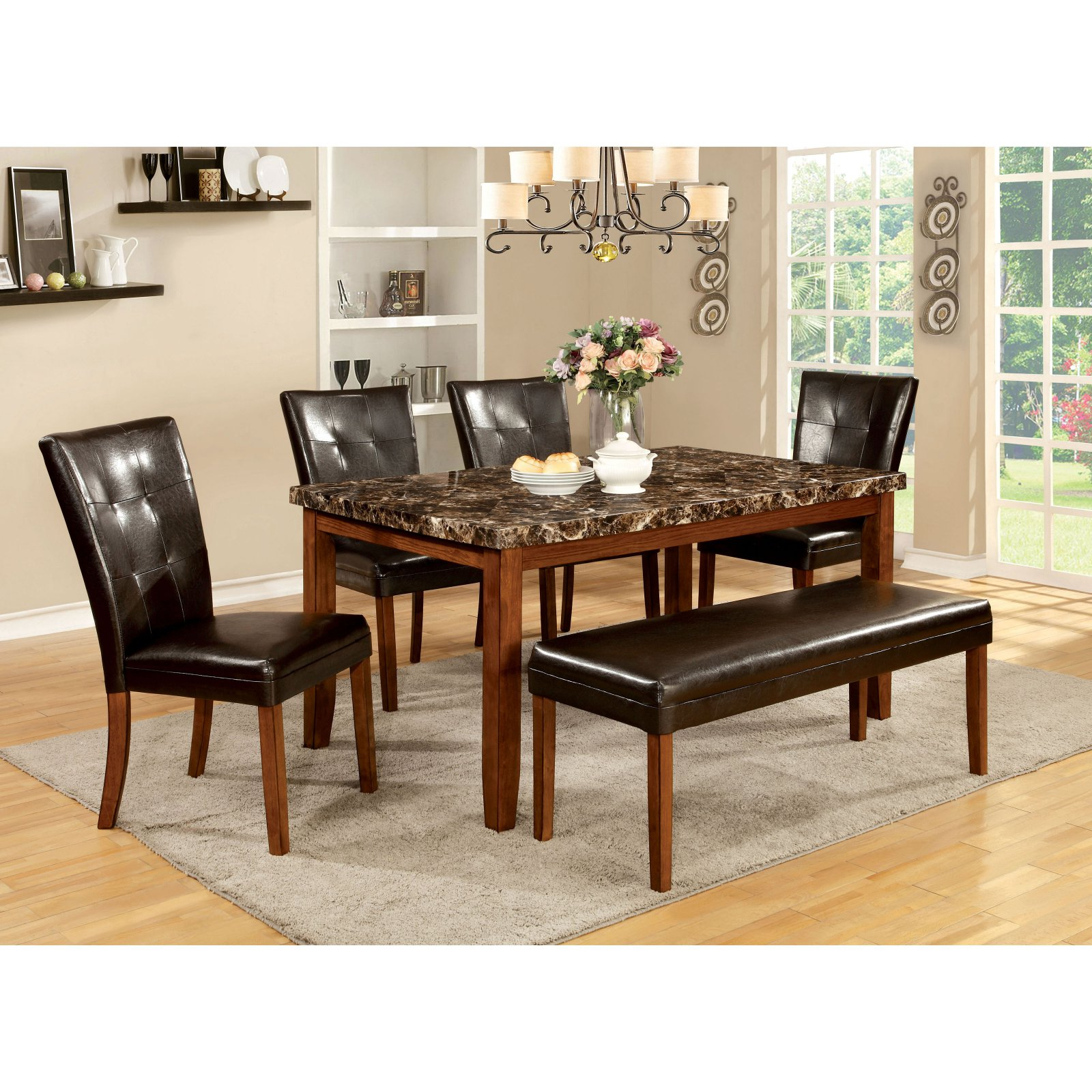 Furniture of America Wilmont Dining Table