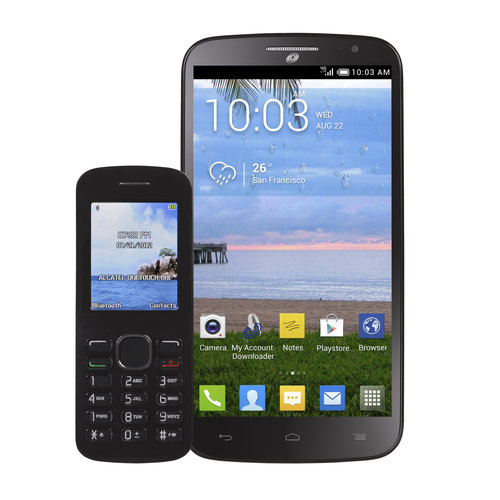 Refurbished Alcatel STALA995GP4P A995G Pop Mega Prepaid Android Smartphone Straight Talk