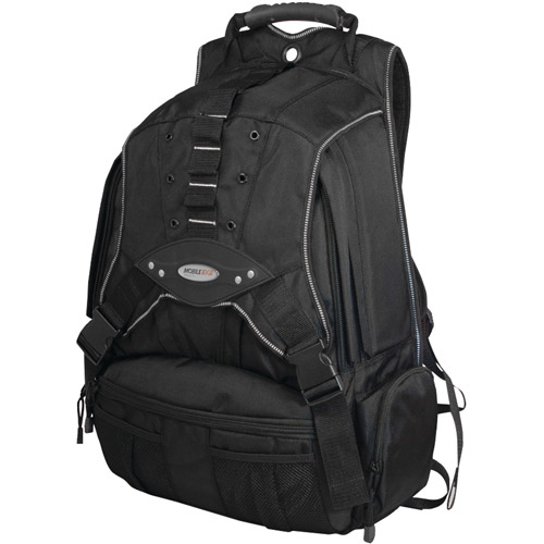 "Mobile Edge MEBPP1 Premium Backpack for 17.3"" Laptops, Black/Charcoal"