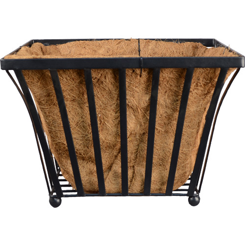 Arcadia Garden Products Solstice Metal Pot Planter