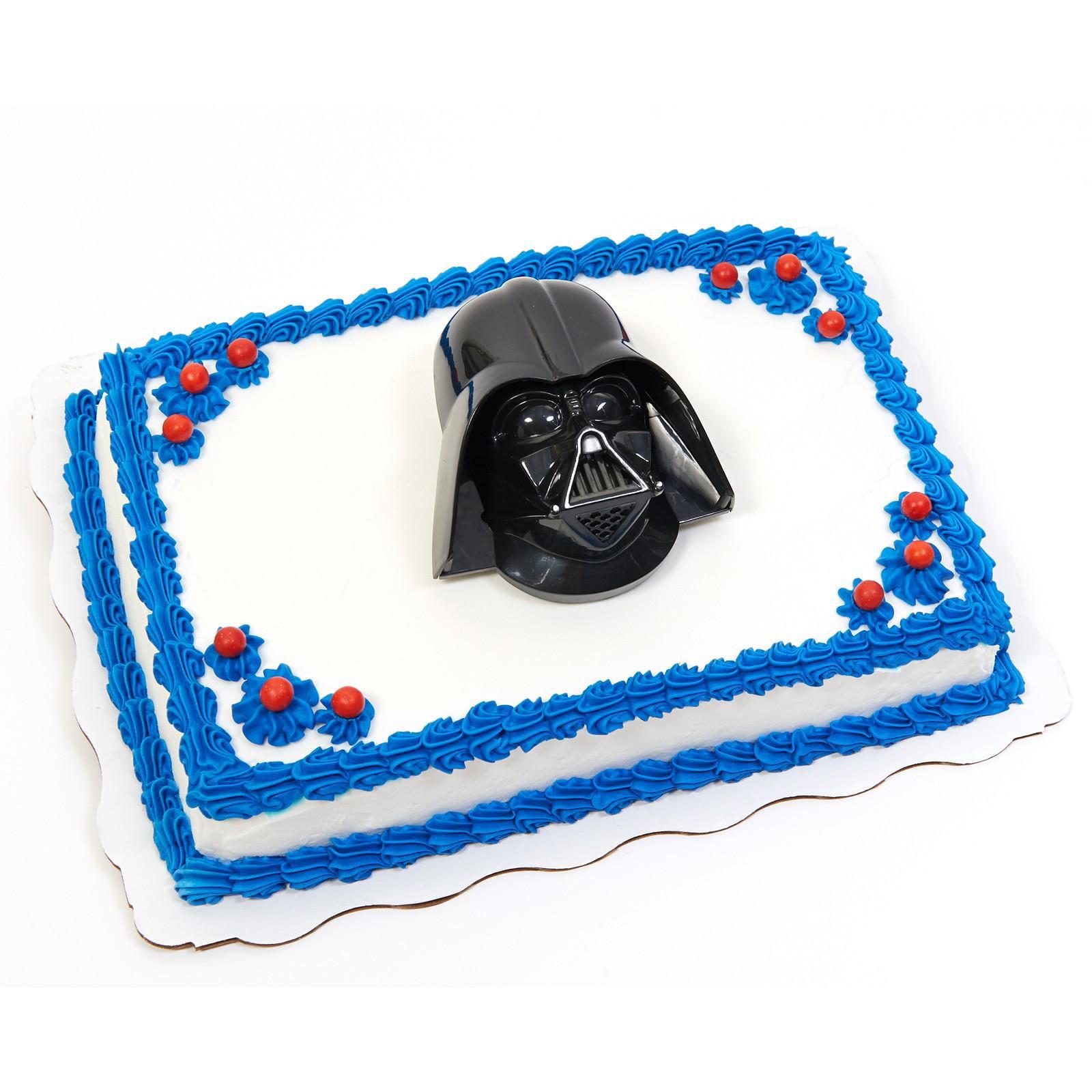 Special Order Cake Decoration Star Wars Darth Vader Walmart