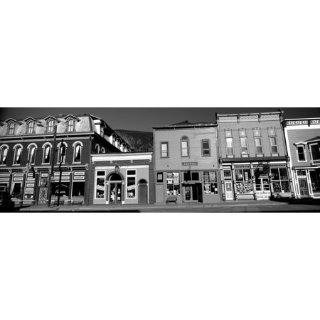 Buildings in a town Old Mining Town Silverton San Juan County Colorado USA Canvas Art - Panoramic Images (6 x 18) (Outlet-shopping In Colorado)