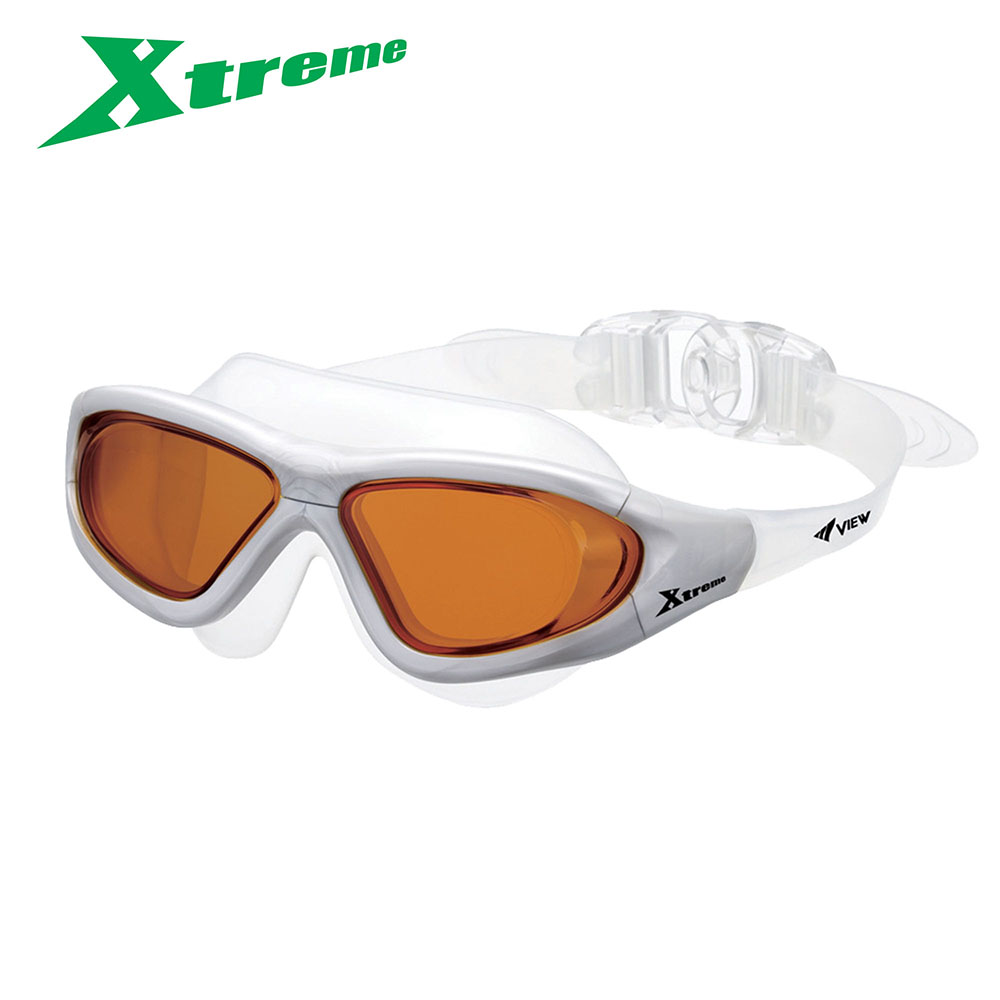 VIEW Swimming Gear Xtreme Adult Swim Goggles with Tinted Goggles