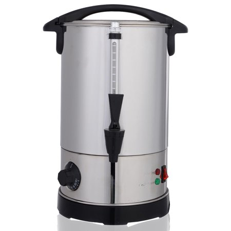Costway Stainless Steel 6 Quart Electric Water Boiler Warmer Hot Water Kettle - Tea Dispenser