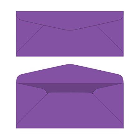 10 business color mailing envelopes 4 1 8 x 9 inches 24lb bond