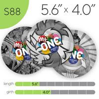 MyONE Condoms Size S88, 6-Count