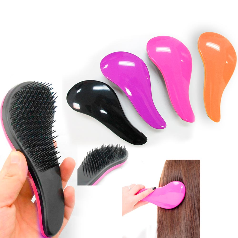 1 Detangling Brush Comb Magic Handle Tangle Shower Hair Salon Styling Unisex New