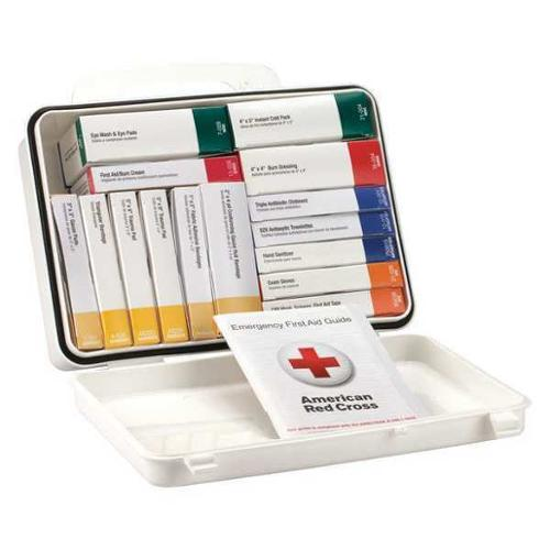 FIRST AID ONLY 54764 First Aid Kit,6-5/16 in.W x 2-3/8 in.H G3111328