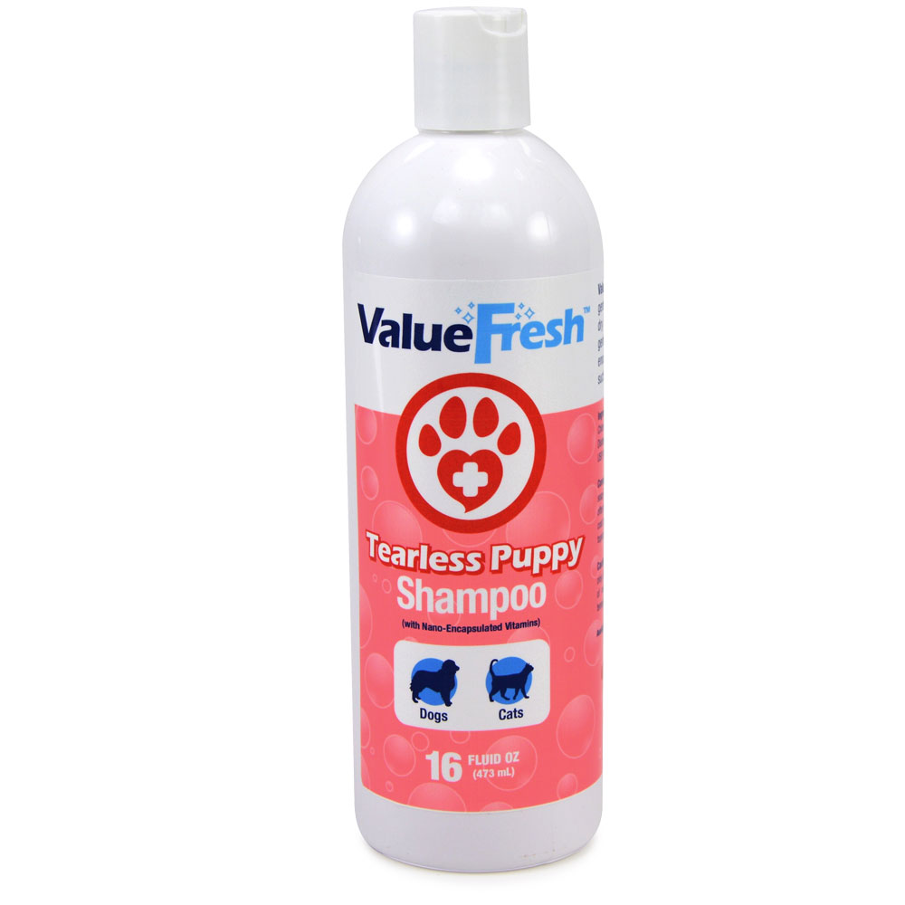 ValueFresh Tearless Puppy Shampoo, 16 Ounce by ValuePetSupplies