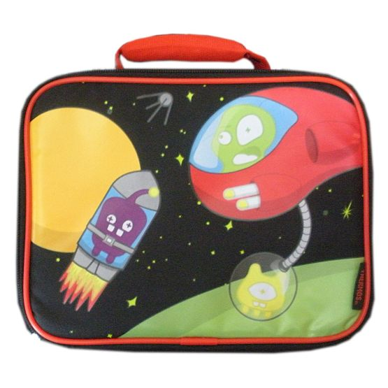 Thermos Spaceship Rocket Soft Lunch Box Insulated Alien Lunch Bag Lunchbox Tote