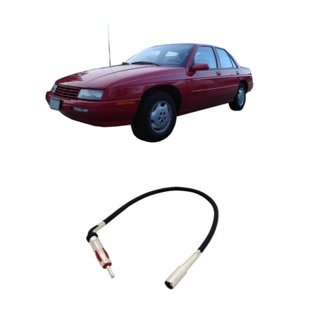 Chevy Corsica 1988-1996 Factory Stereo to Aftermarket Radio Antenna Adapter Plug ()