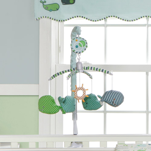 MiGi - Little Whales Collection Musical Mobile