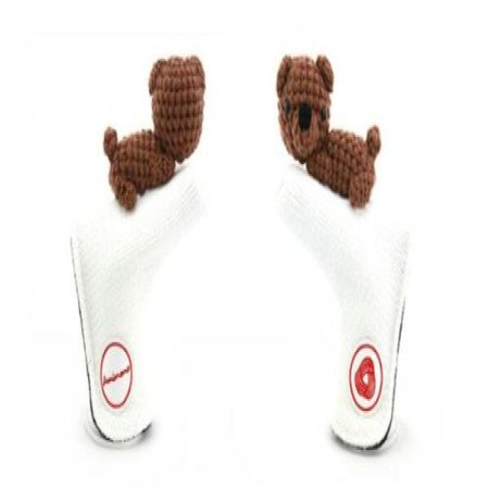 Amimono Headcovers P609B AmiPutter Bear WhiteBrown