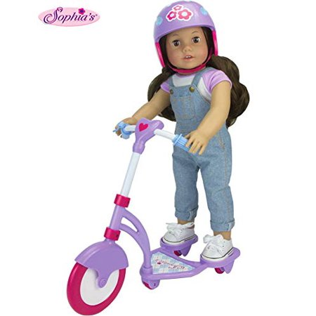 Admirable Sophias Doll Scooter Helmet Set Made 18 Dolls Accessories Fit For American Girl Dolls 2 Pc Doll Helmet Scooter Set 18 Doll Furniture Home Interior And Landscaping Ymoonbapapsignezvosmurscom